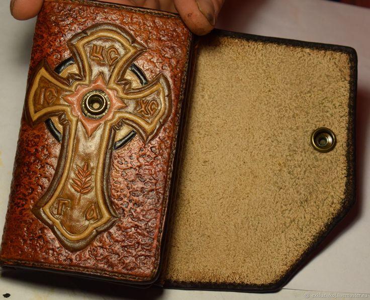 Купить Эксклюзивный женский кошелёк - сумка из натуральной кожи, чехол для телефона, изделия из кожи