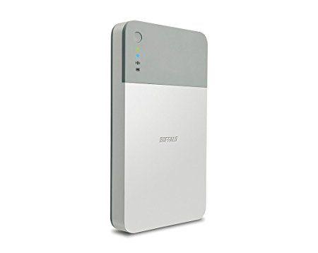 Amazon | BUFFALO ミニステーション エア Wi-Fi接続ポータブルHDD 1TB HDW-PD1.0U3 | バッファロー | 外付ハードディスクドライブ | パソコン・周辺機器