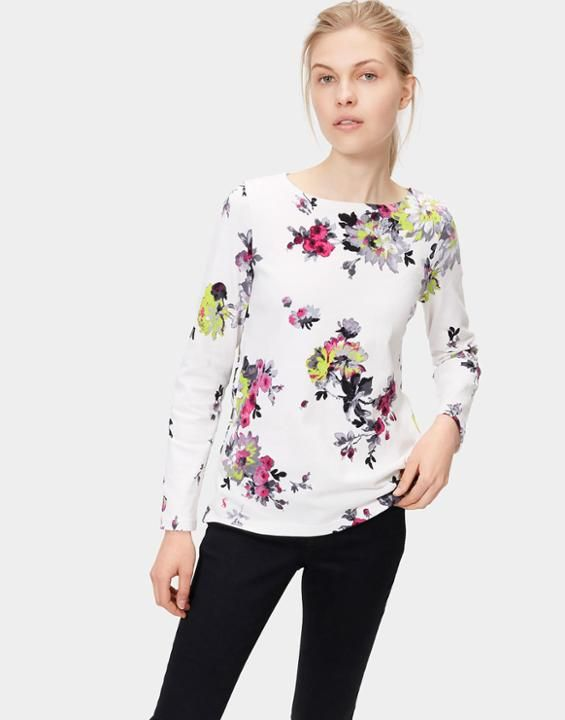 Joules Sale Picks - The Harbour Print Jersey Top