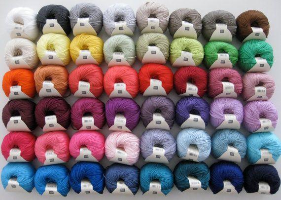 Knitting Essentials Yarn Separator : Rico essentials mercerised cotton double knitting dk