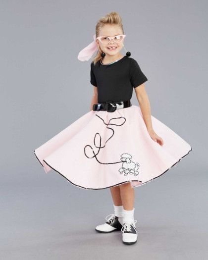 Fab '50s Costume for Girls