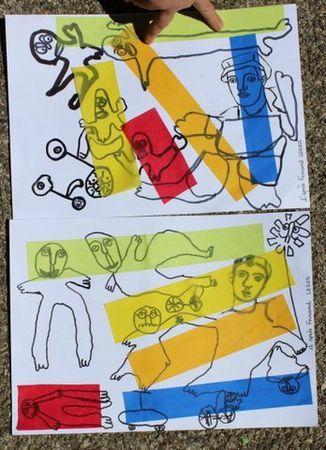 A la manière de Ferdinand Léger
