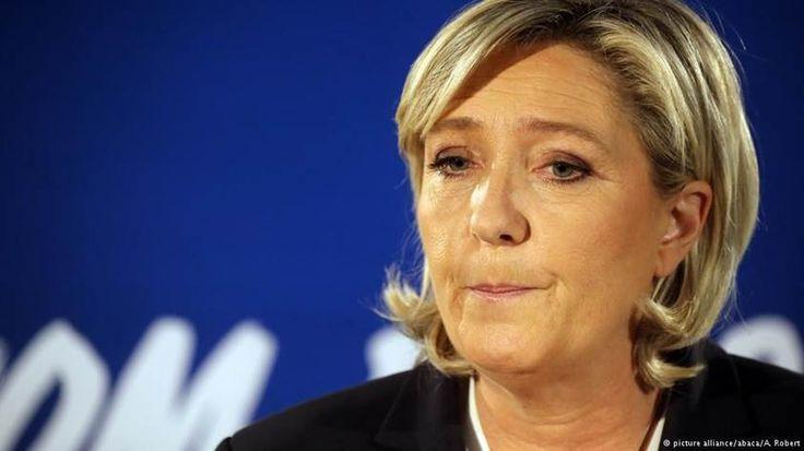 Marine Le Pen busca en EE.UU. apoyo político y económico