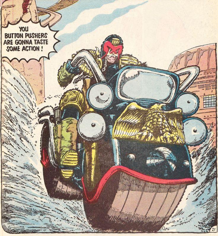 John Wagner and Carlos Ezquerra, The original & Best JudgeDredd 2000ad comic