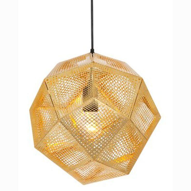 Etch Shade taklampa från Tom Dixon. En snygg taklampa som är inspirerad av den rena logike...