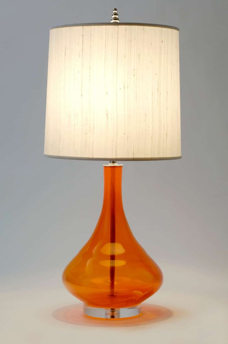 The 25 best orange table lamps ideas on pinterest midcentury orange table lamps selection geotapseo Gallery