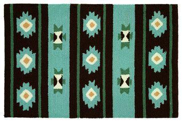 Navaho Blanket Rug rustic-rugs