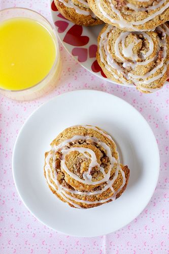 cinnamon roll scones by annieseats | ~Eat,drink and be merry~ | Pinte ...