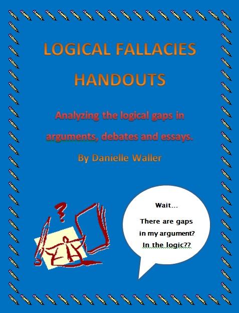 best homeschool logic images detective logical fallacies handouts