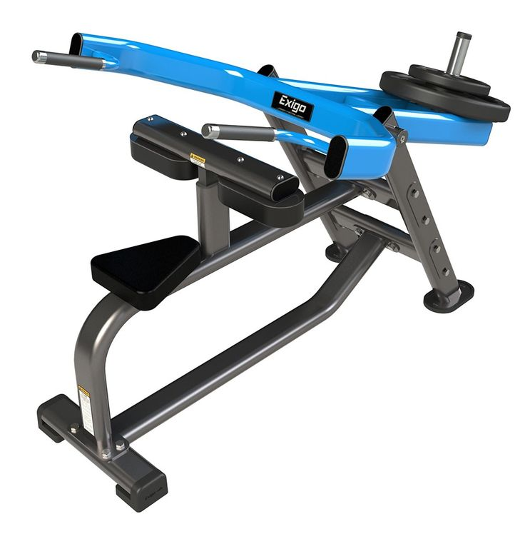 Exigo Seated Dip Plate Loaded: The Exigo Seated Dip is designed to fully activate the triceps and pectoral… #fitnessequipment #homegym