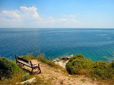 The best seat on the hill - Thassos, Greece