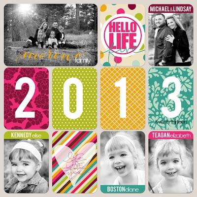 Lindsay Teague Moreno: 2013 Project Life #scrapbook #projectlife