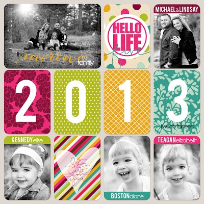 Lindsay Teague Moreno: 2013 Project Life #scrapbook #projectlife