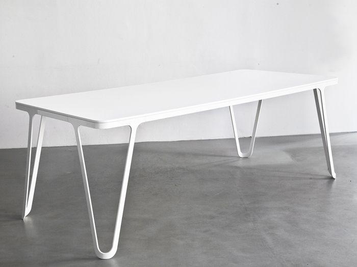 Aluminium Table Table By Sebastian Scherer