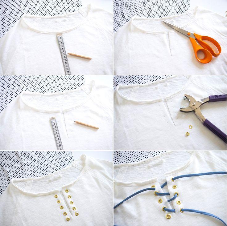 Les DIY Frou-Frou x Atelier Svila : #10 le top à cordon de Julie