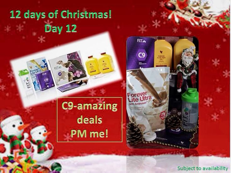 Day 12 - have a look - a new offer each day   Browse at www.aloevivi.myforever.biz/store    C9 - amazing deals - PM me.
