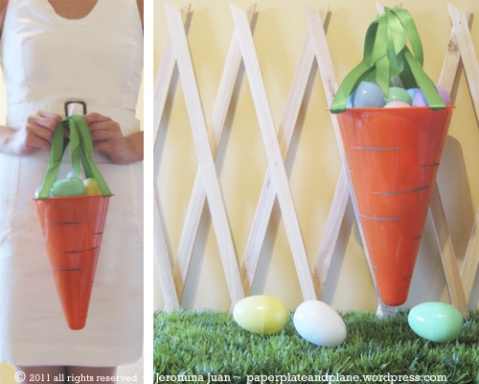 Carrot easter basket easter baskets dollar stores and easter negle Image collections