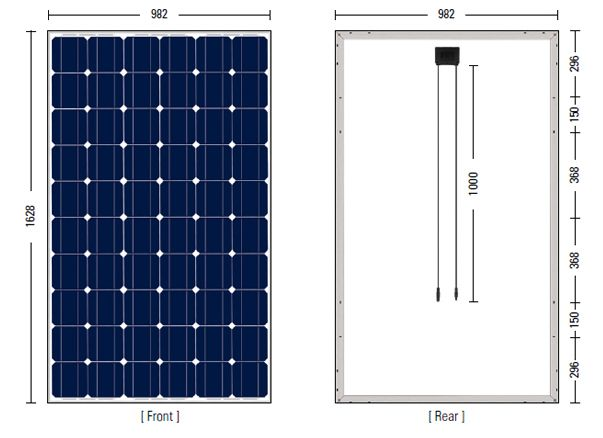 Guide To Solar Panel Size How Much Do You Need For Own Solar Panel System Our Solar Energy En 2020