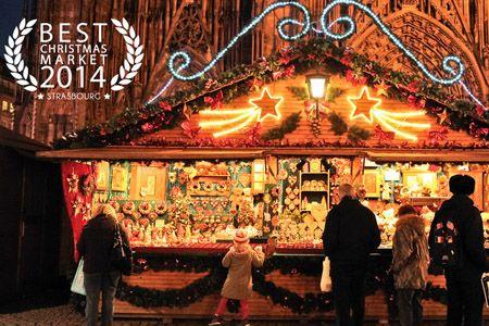 Concours du meilleur marché de Noël d'Europe : Strasbourg élu meilleur marché de Noël d'Europe 2014