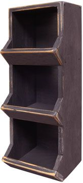 Wall Mount Firewood Storage Bin...keeps the wood off the floor and away from bugs...