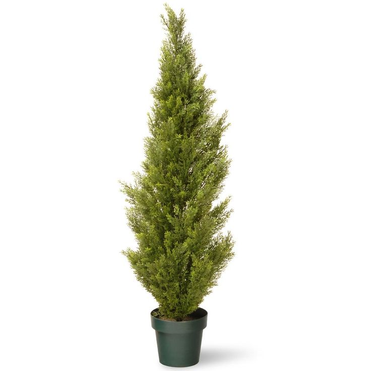 National tree company 48 in artificial arborvitae tree in