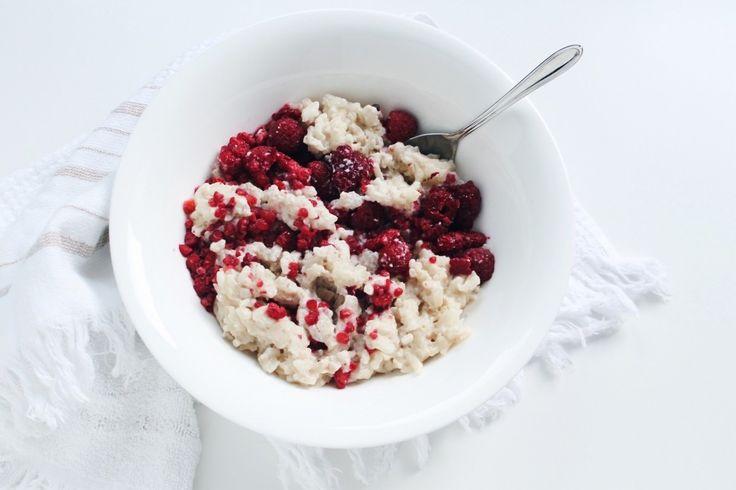 Milchreis Grundrezept / Rice Pudding Basic Recipe