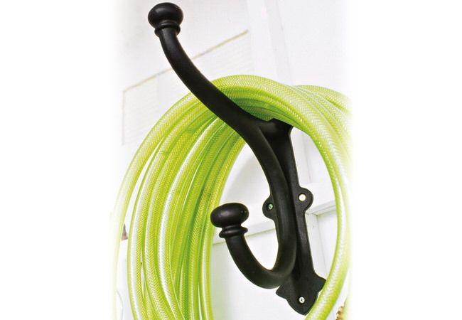 garden hose storage - Duh!