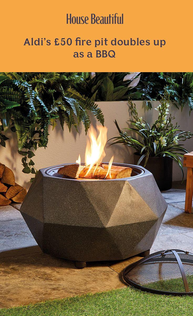 Aldi S 50 Fire Pit Is Back By Popular Demand Modern Backyard Design Fire Pit Fire Pit Bbq