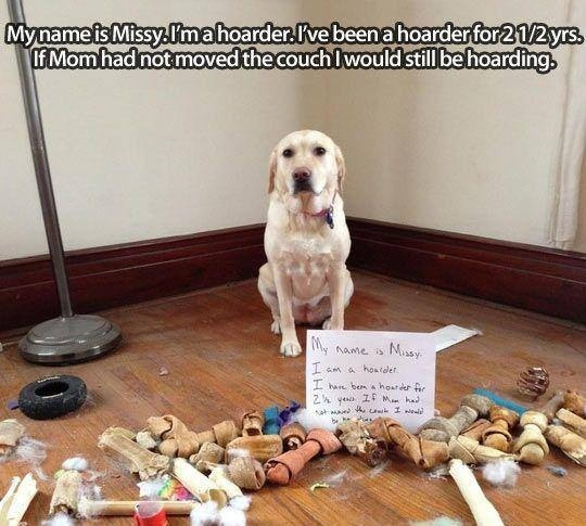 Mom found his stash !