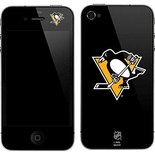 Skinit Protective Skin for iPhone 4G, iPhone 4GS, iPhone (NHL PITT PENGUINS)  http://allstarsportsfan.com/product/skinit-protective-skin-for-iphone-4g-iphone-4gs-iphone-nhl-pitt-penguins/  IMPORTANT: This product is a form-fitting, protective VINYL SKIN. This product is NOT rubber, silicone, gel, plastic, leather or a hard case. Guaranteed to fit perfectly and not interfere with other accessories. Easy to apply and remove with no residue left on or damage done to your device.