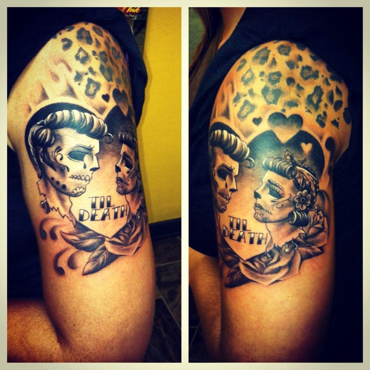 199 best images about skull tattoos on pinterest for Skull love tattoos