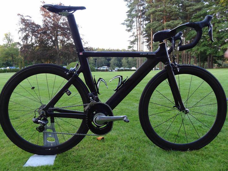 Bradley Wiggins UKSI Olympic bike /via cyclingweekly.co.uk #roadie #carbon