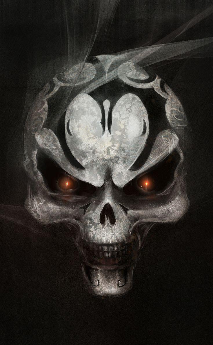 Best 25+ Evil skull tattoo ideas on Pinterest | Girly ...