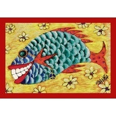 Found it at Wayfair - Don Sawyer Counting Flowers Tropical Novelty Rug