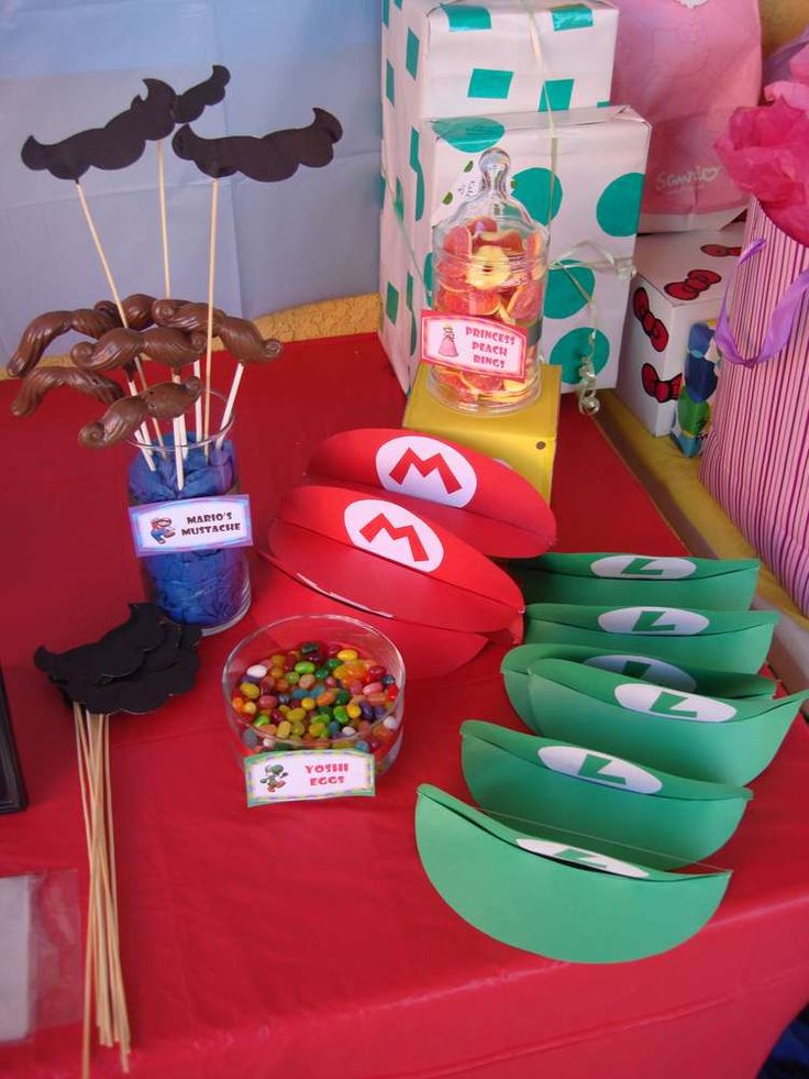 Super Mario Brothers Birthday Party Ideas Birthdays