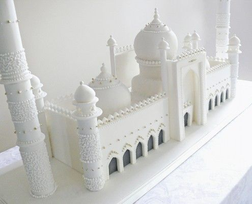 Mosque Cake, Eid cake, wedding cake