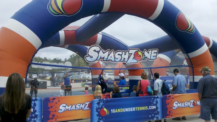 SmashZone at the Taste of Hudson 2012.  Wow!  wrrfc.com