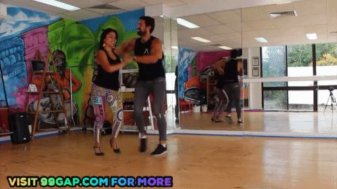 Funny GIF Of Cuban Salsa Dancing – Gold Coast Salsa Dance School