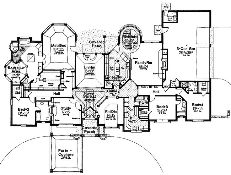 912 best My New House images on Pinterest House floor plans