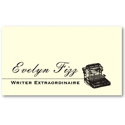 17 best typecraft logo ideas images on pinterest logo ideas simple typewriter vintage business card logo reheart Choice Image