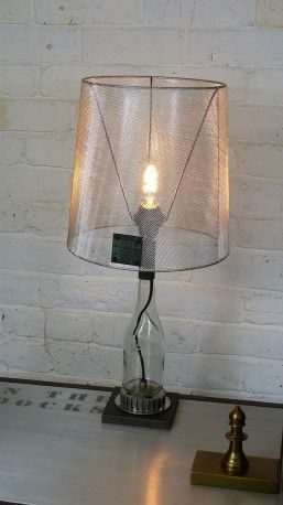 Bike Table Lamps - This is definitely one of Smithers favourite upcycled table lamps so far - it's uber stylish and really imaginative. Our fun themed industrial lamp is handmade from recycled bike parts in cool retro style. The best gifts for cyclists.