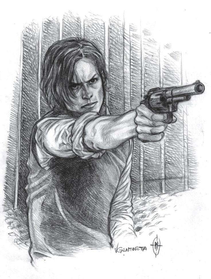One bullet by whiteshaix.deviantart.com