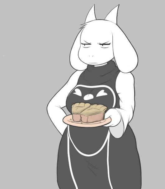 Haha I really like this Toriel