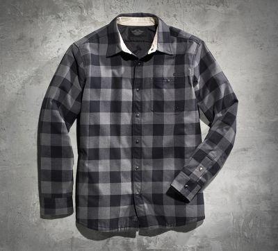 Long s t fit davidson harley slim shirts men back wholesale