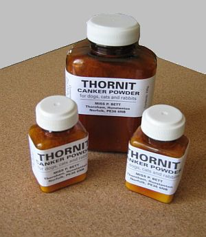 THORNIT Ear Powder... Greatest thing ever for floppy ears!