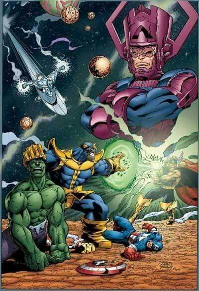 Thanos And The Infinity Gauntlet (Marvel Comics). | Marvel ...