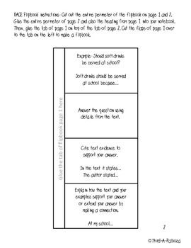 Race writing strategy pdf