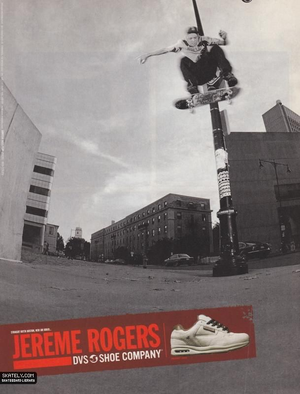 DVS Shoes - New Am Jereme Rogers Ad (2002)