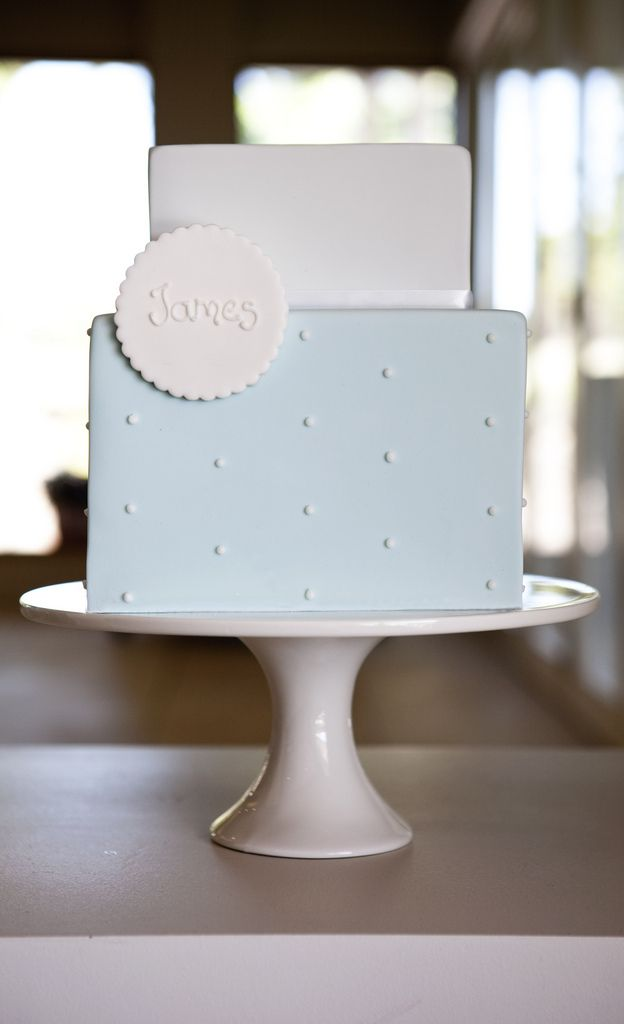 Christening Cake for James