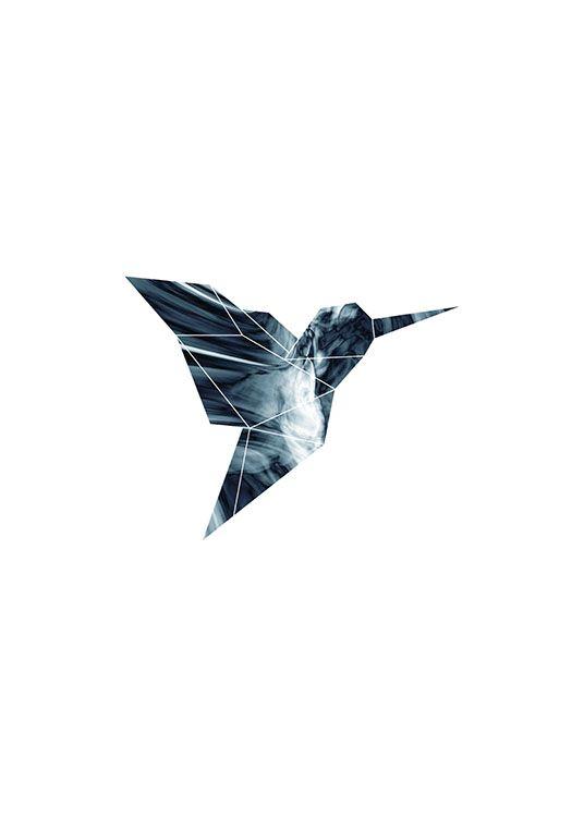 Hummingbird, posters